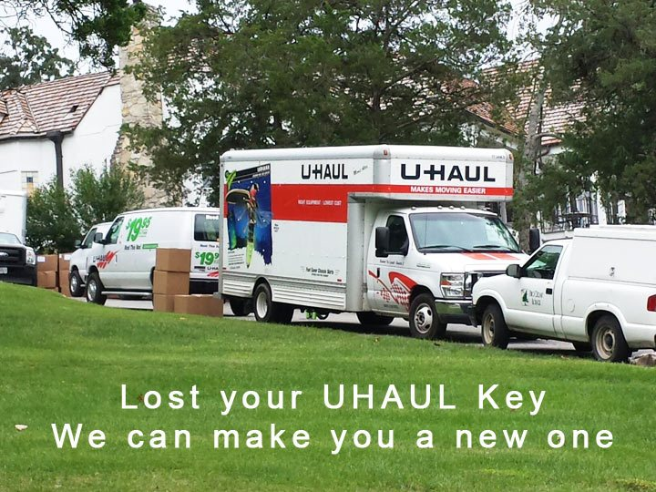 Uhaul keys lost or misplaced? We can cut and program your
